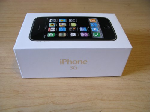Коробка iPhone 3G 16GB