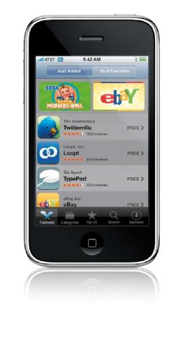Apple iPhone 3G - App Store