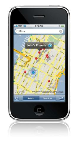 Apple iPhone 3G - Maps