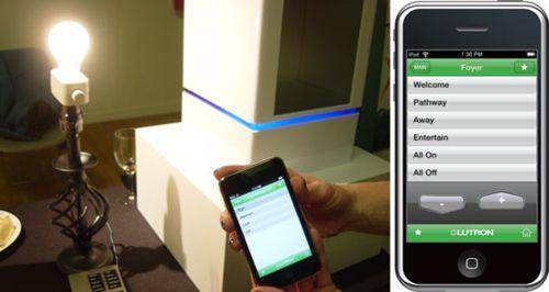Контролируем освещенность при помощи iPhone