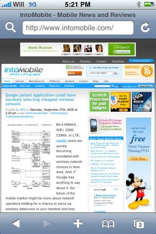Обновленный интерфейс браузера Safari