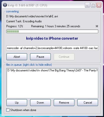 iPhone, видео, kvip