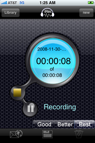 iRec Voice Recorder