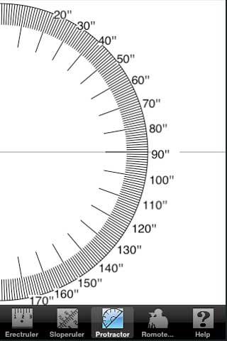 iPhone, AppStore, Ruler Protractor Measure
