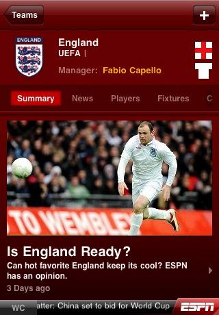 ESPN 2010 FIFA World Cup