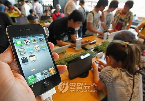 Южная Корея: 100000 предварительных заказов на Apple iPhone 4 за день