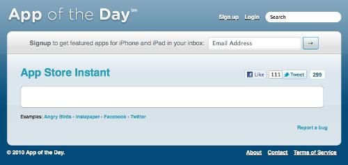 App Store Instant